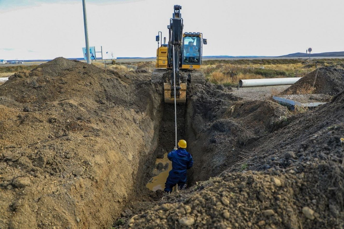 Comenzó la construcción de pluviales en Chacra XI