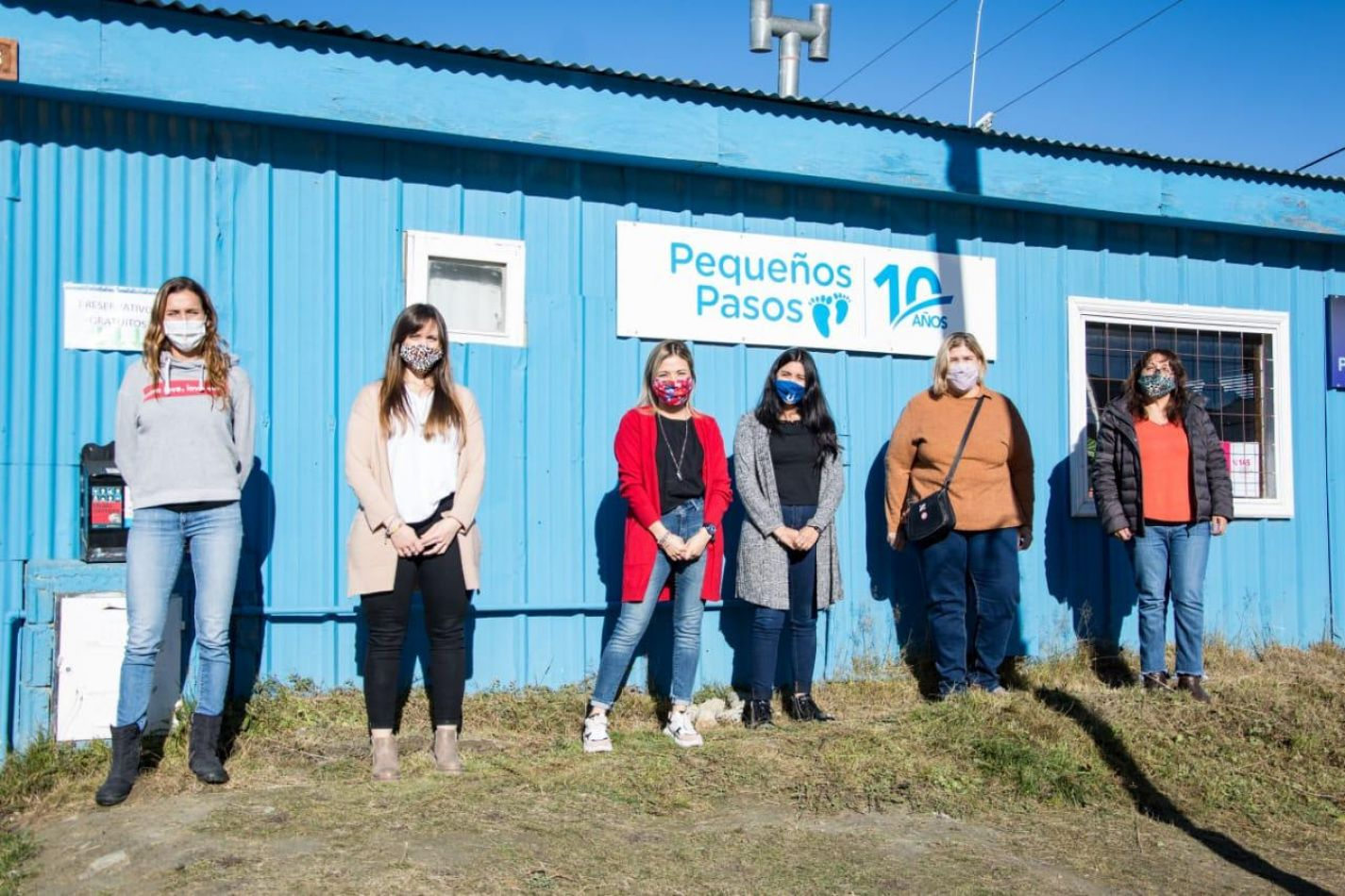 Secretaría de Políticas Sociales atendió en el B° Pipo junto a la Fundación Pequeños Pasos