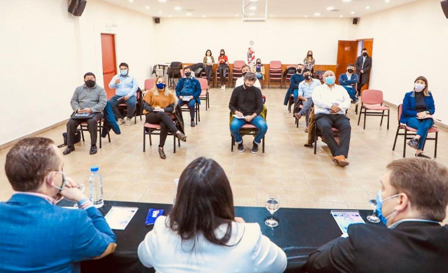 Concejales participaron de la capacitación sobre la Ley Micaela