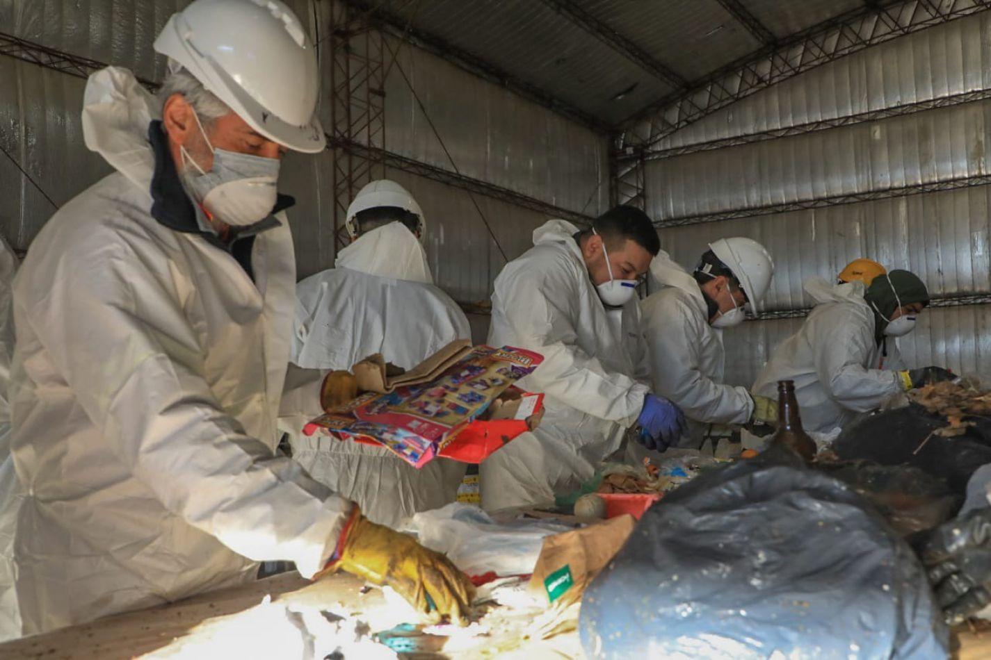 El municipio finaliza la caracterización de residuos sólidos domiciliarios