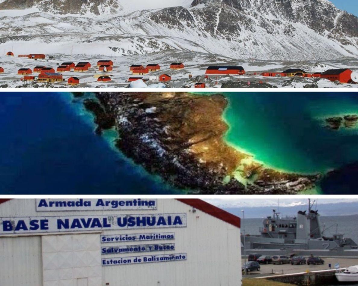 La Argentina proyecta desarrollar una Base Naval Integrada como centro neurálgico para la Antártida y el Atlántico Sur
