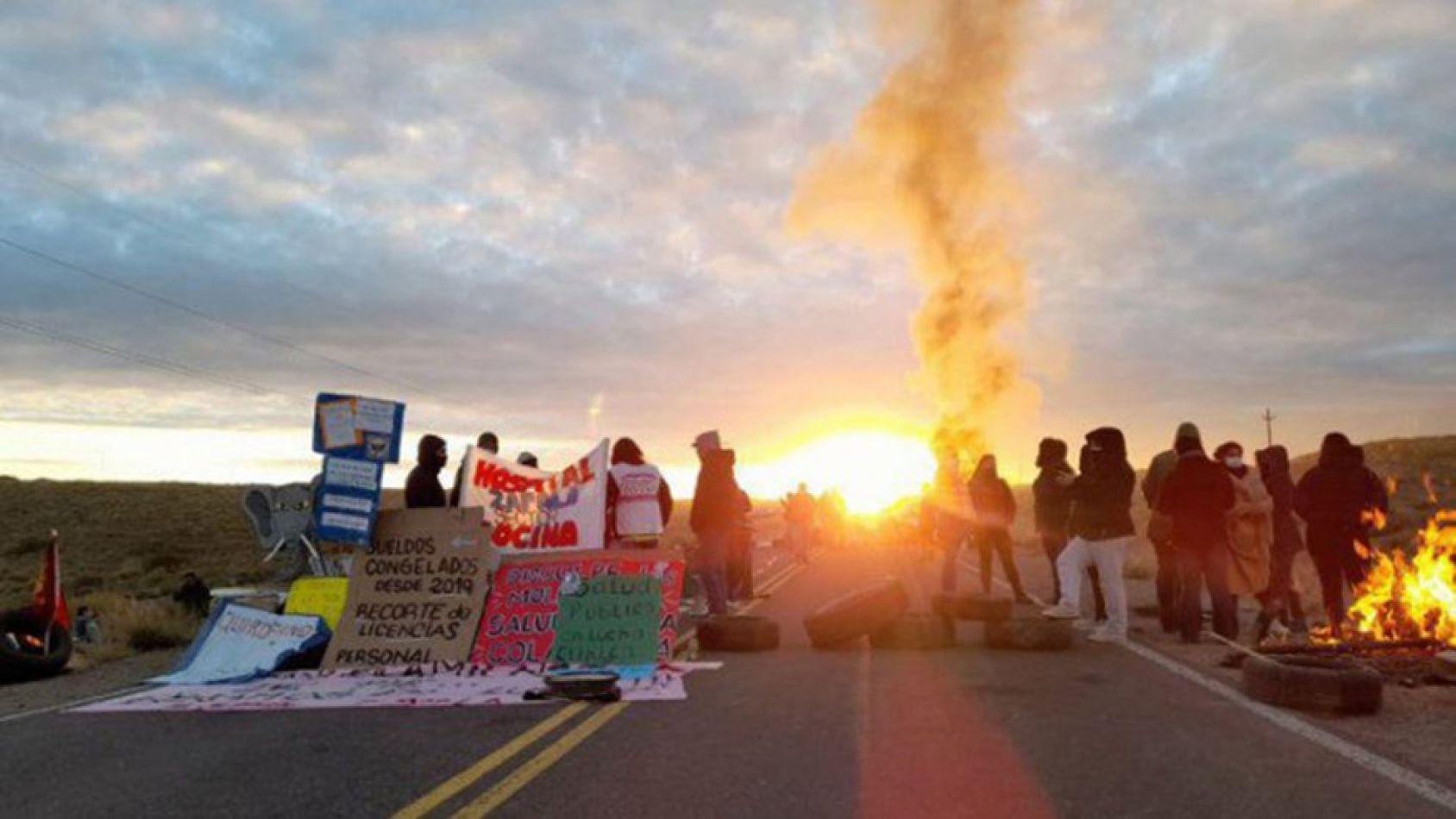 Levantaron los cortes de ruta en Vaca Muerta tras 22 días de conflicto