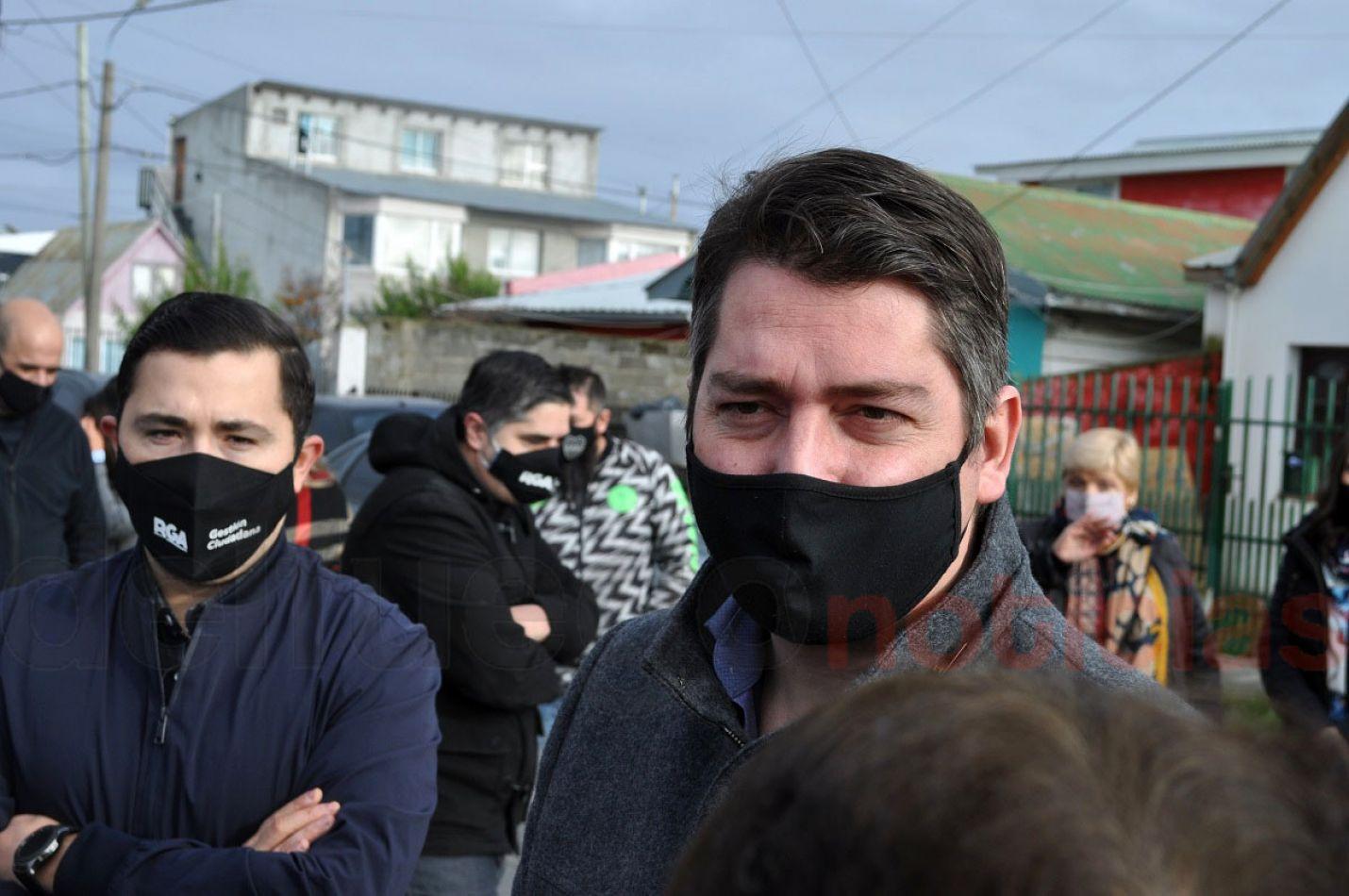 El intendente Martín Perez entendió que a partir de las declaraciones de Melella hay que comenzar a sanear la deuda con los municipios.