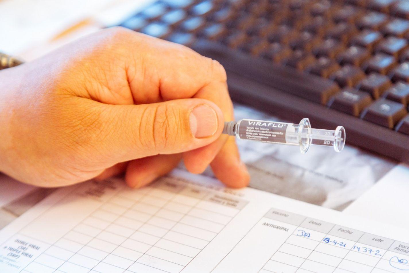 La campaña de vacunación antigripal se desarrolla satisfactoriamente en toda la provincia