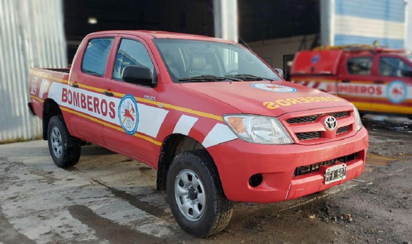 Bomberos Tolhuin recuperó una unidad 4x4 que se sumó a su dotación de emergencias.