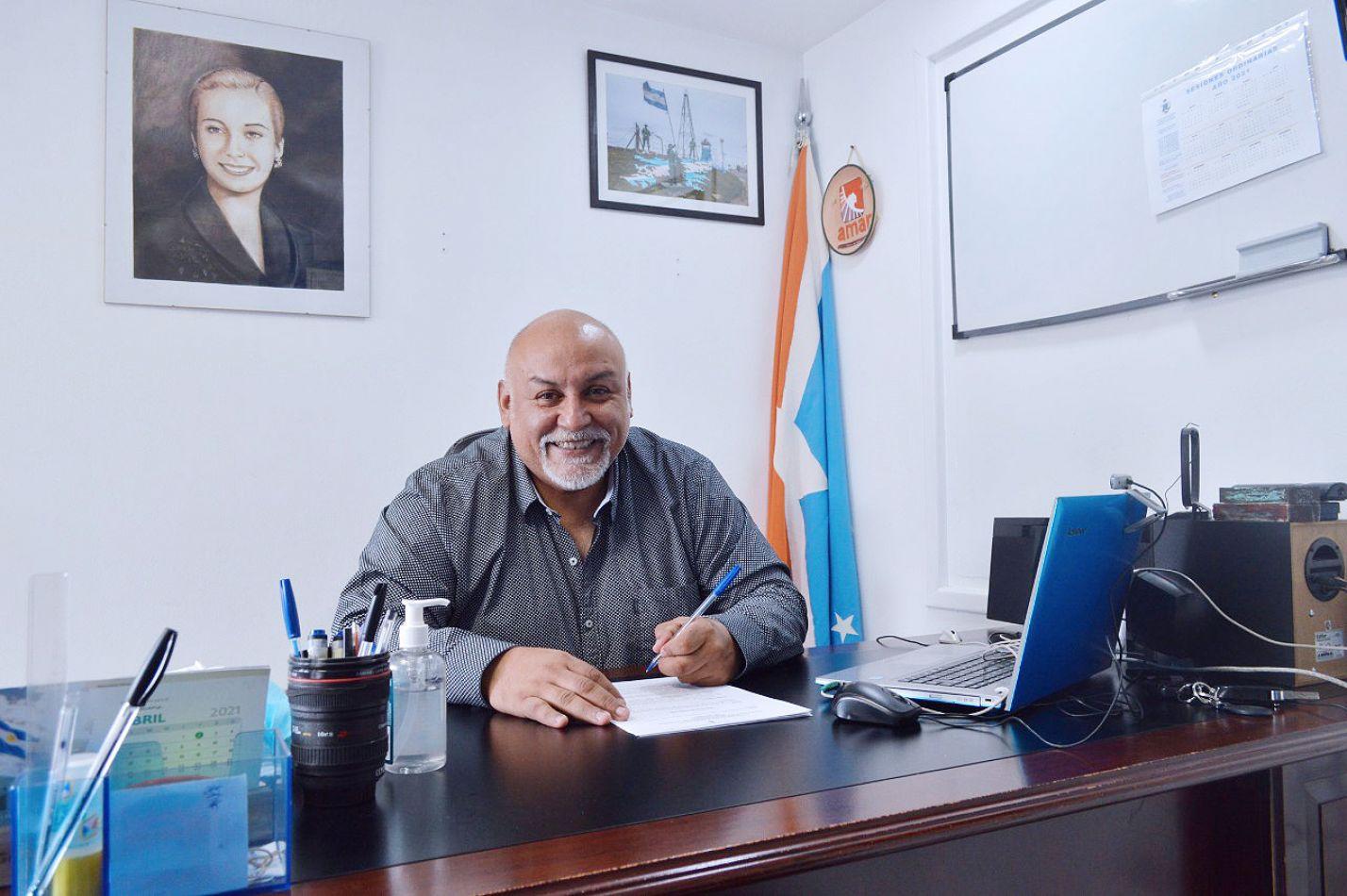 Walter Campos, concejal de Río Grande por el bloque Forja-Todos.
