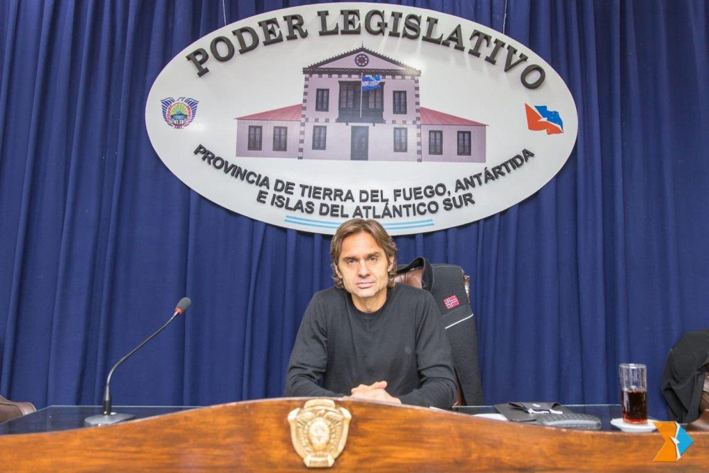 Federico Sciurano, legislador provincial por la UCR.