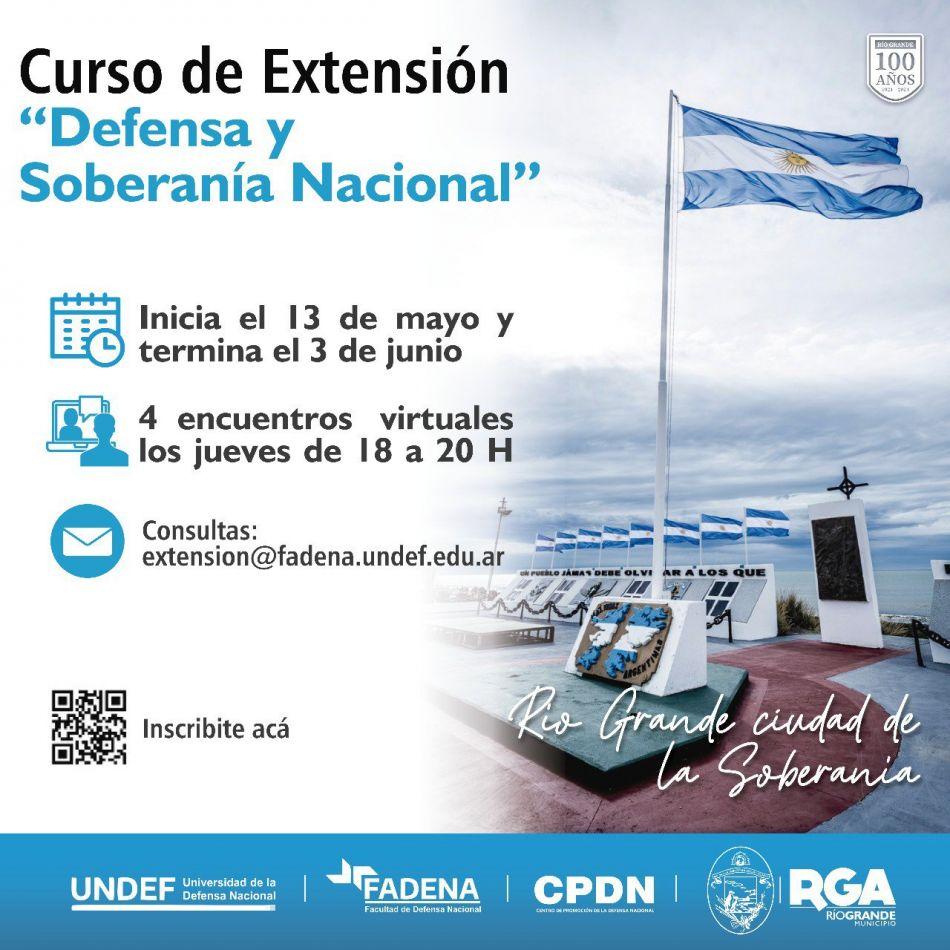 El Municipio de Río Grande, conjuntamente con la Universidad de la Defensa Nacional (FADENA/UNDEF).