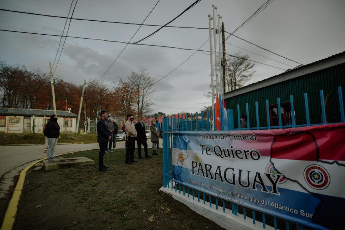 Acto por el Día de la independencia de la República de Paraguay
