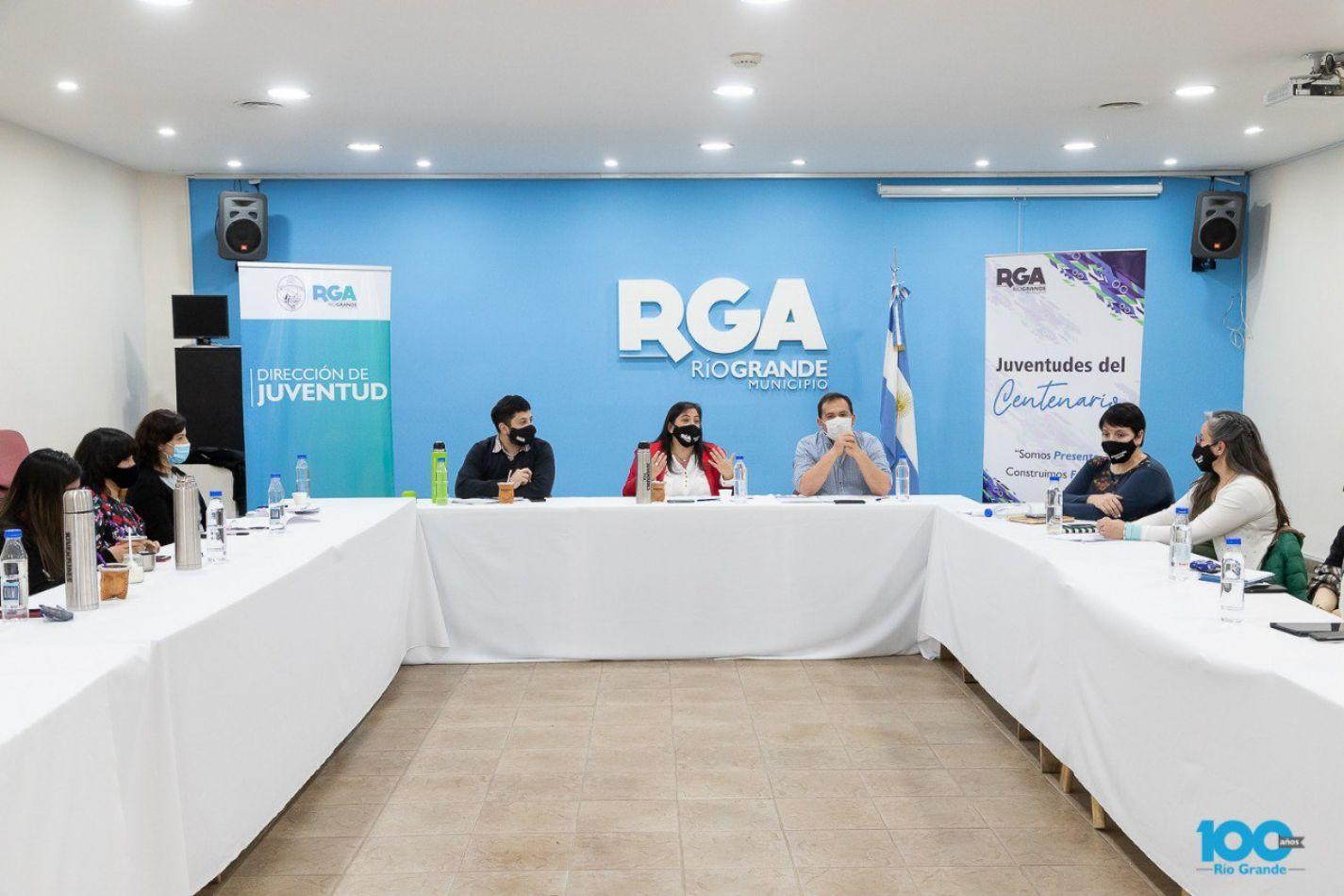 Juventudes del Centenario: Se realizó la primera mesa de trabajo