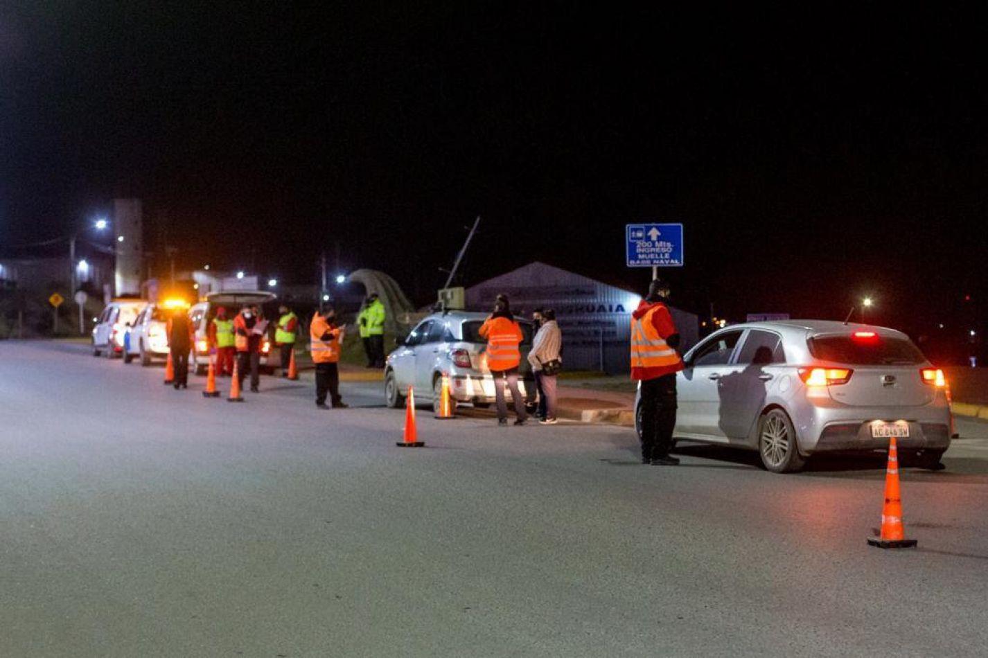 Municipio de Ushuaia participó del operativo conjunto que encabezó la Agencia Nacional de Seguridad Vial