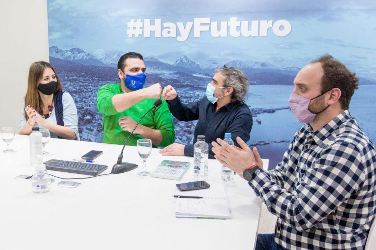 Vuoto presentó a Roberto Trujillo como coordinador de Desarrollo Sustentable