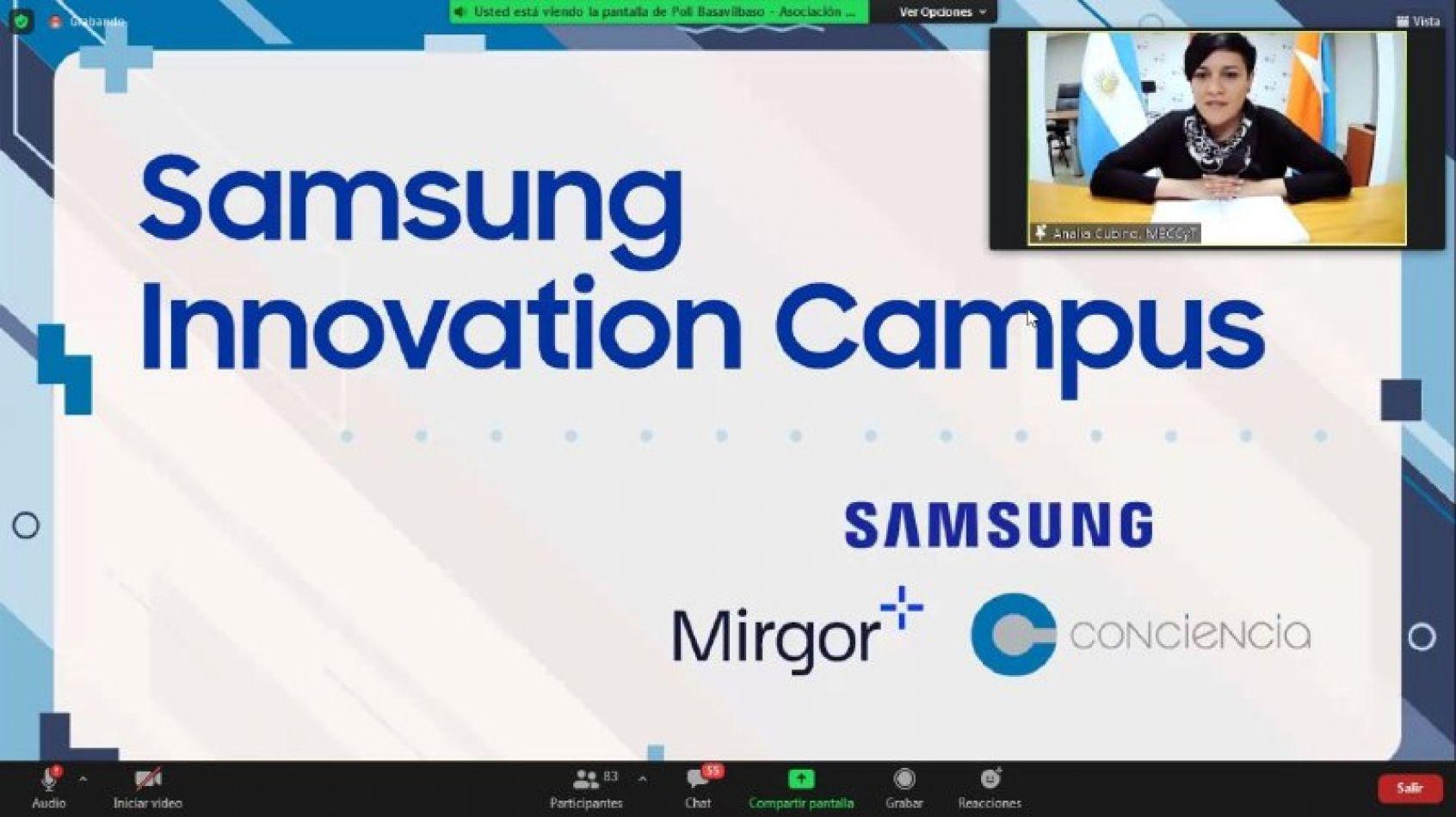 Provincia y Samsung lanzaron el Innovation Campus en Tierra del Fuego