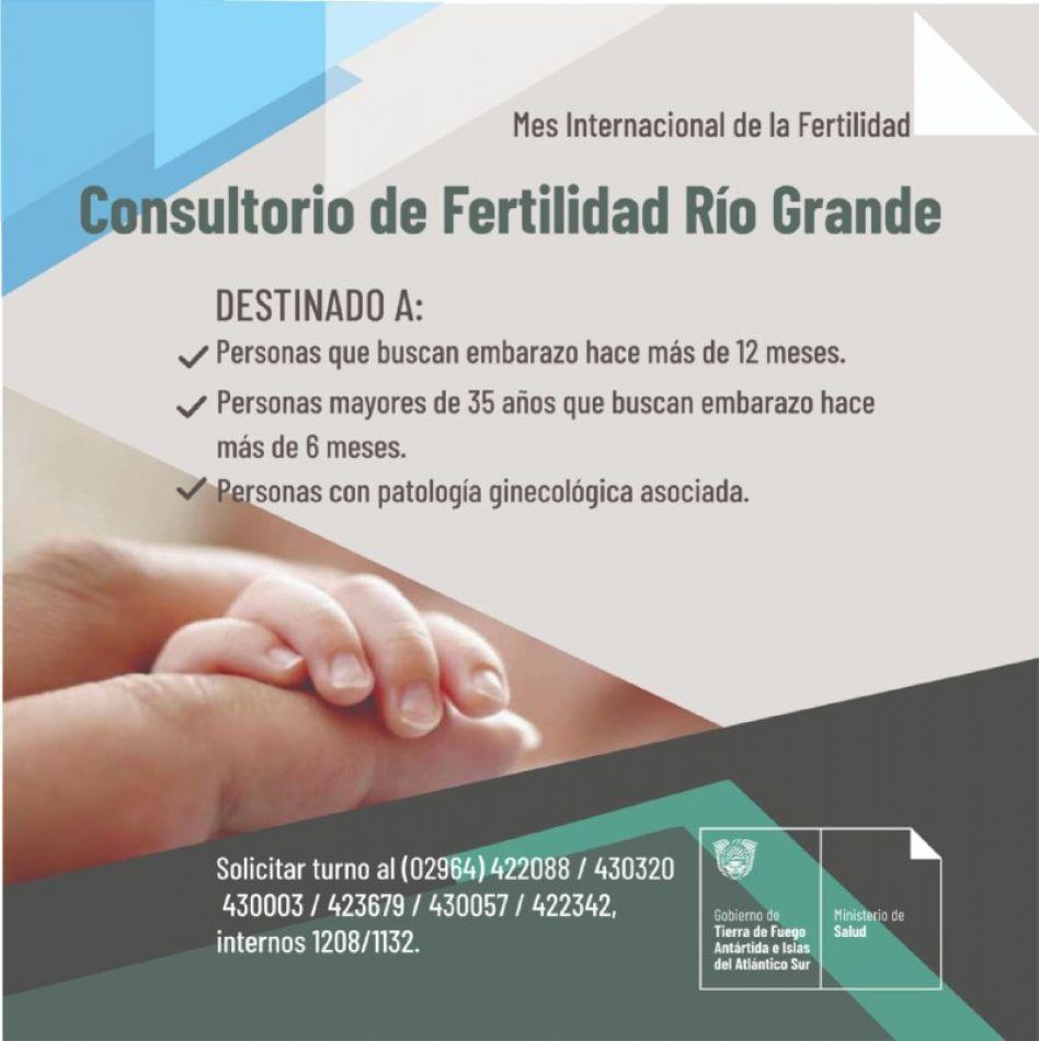Confirman la modalidad de atención del consultorio de fertilidad de Río Grande