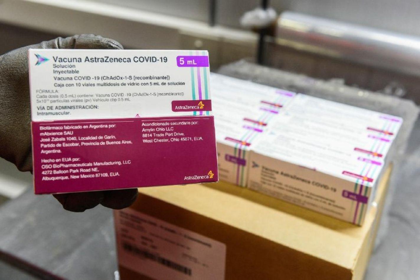 Tierra del Fuego recibirá 4300 nuevas dosis de vacunas AstraZeneca