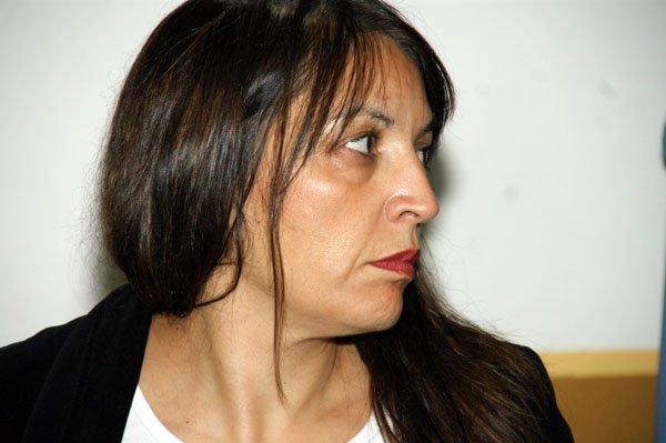 Legisladora por el Partido Patagónico Popular, Laura Rojo.