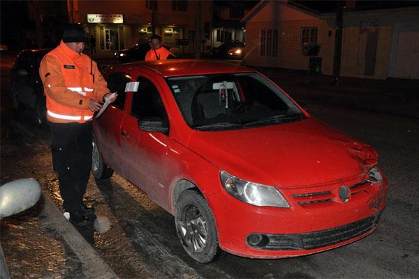 Del total, 23 vehículos fueron secuestrado por alcoholemia positiva de sus conductores.