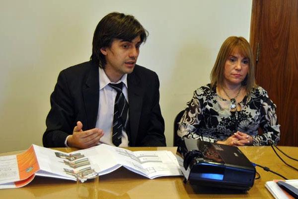 Miriam Boyadjian, durante la reunión de la Comisión de Protección Ciudadana.