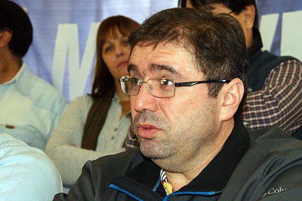 Secretario Adjunto de Sindicato Unificado de Trabajadores de la Educación Fueguina, Héctor López Aui