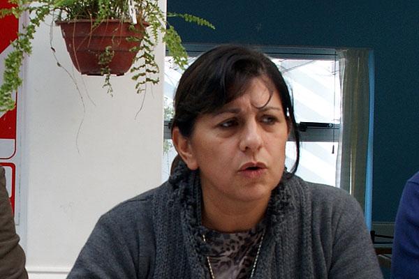 Susana Molayoli volvió a cargar contra la conducción provincial del sindicato docente.
