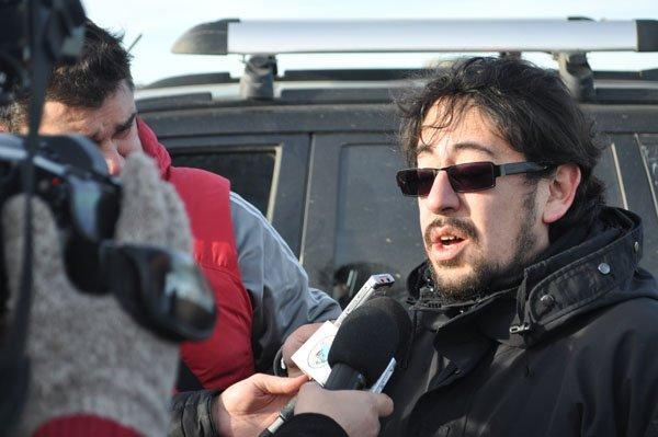 Concejal de Río Grande por el Frente Para la Victoria, Héctor Garay.