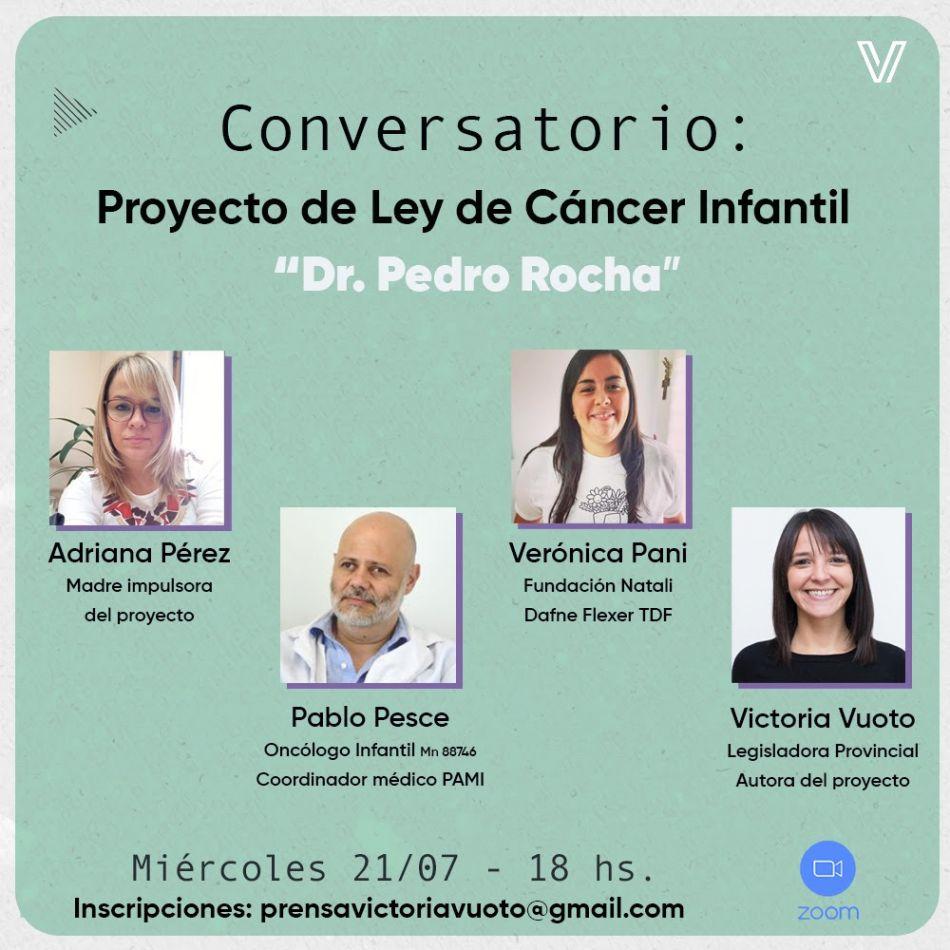 """Invitan a participar de la presentación del proyecto de ley """"Dr. Pedro Rocha"""""""