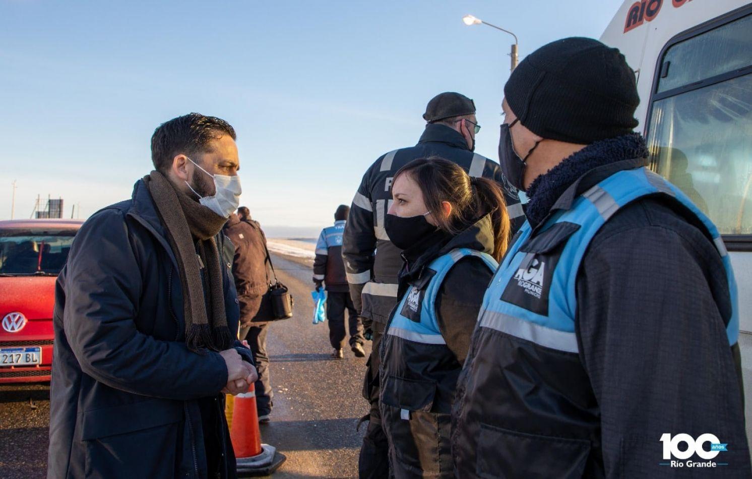 Municipio puso en marcha el Operativo Invernal de Seguridad Vial