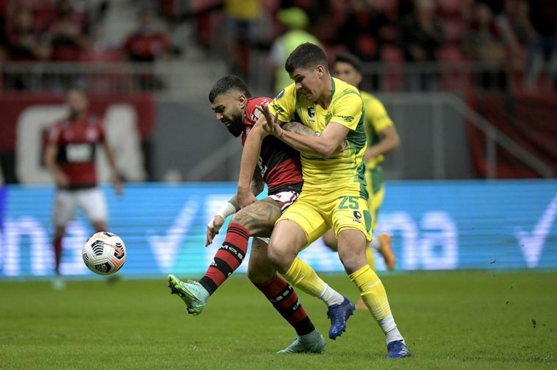 Defensa y Justicia perdió con Flamengo