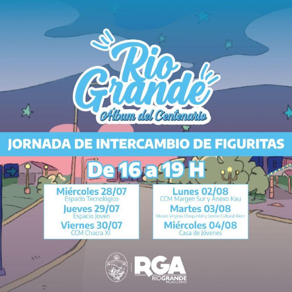 Comienza las jornadas de intercambio de figuritas en Río Grande