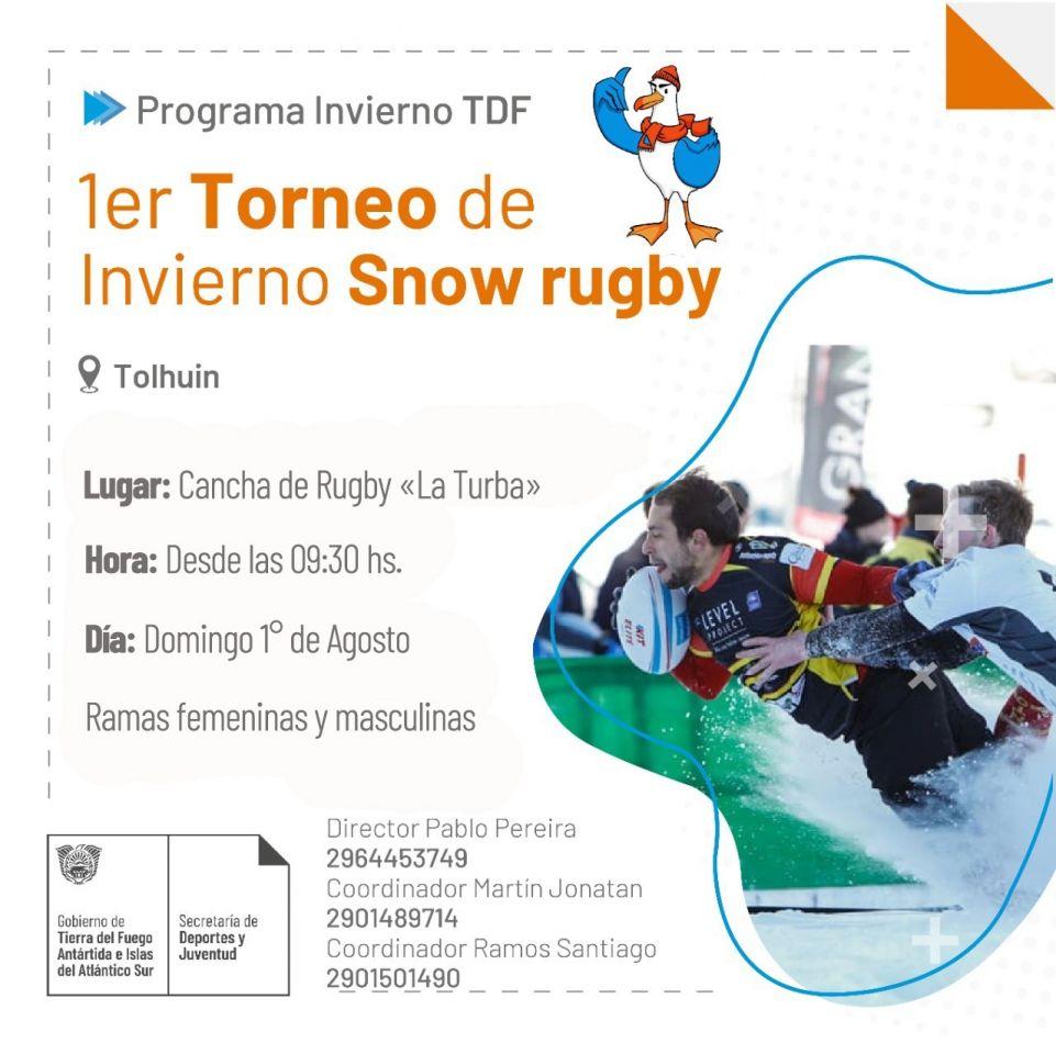 Torneo Provincial de Invierno sobre nieve en Tolhuin