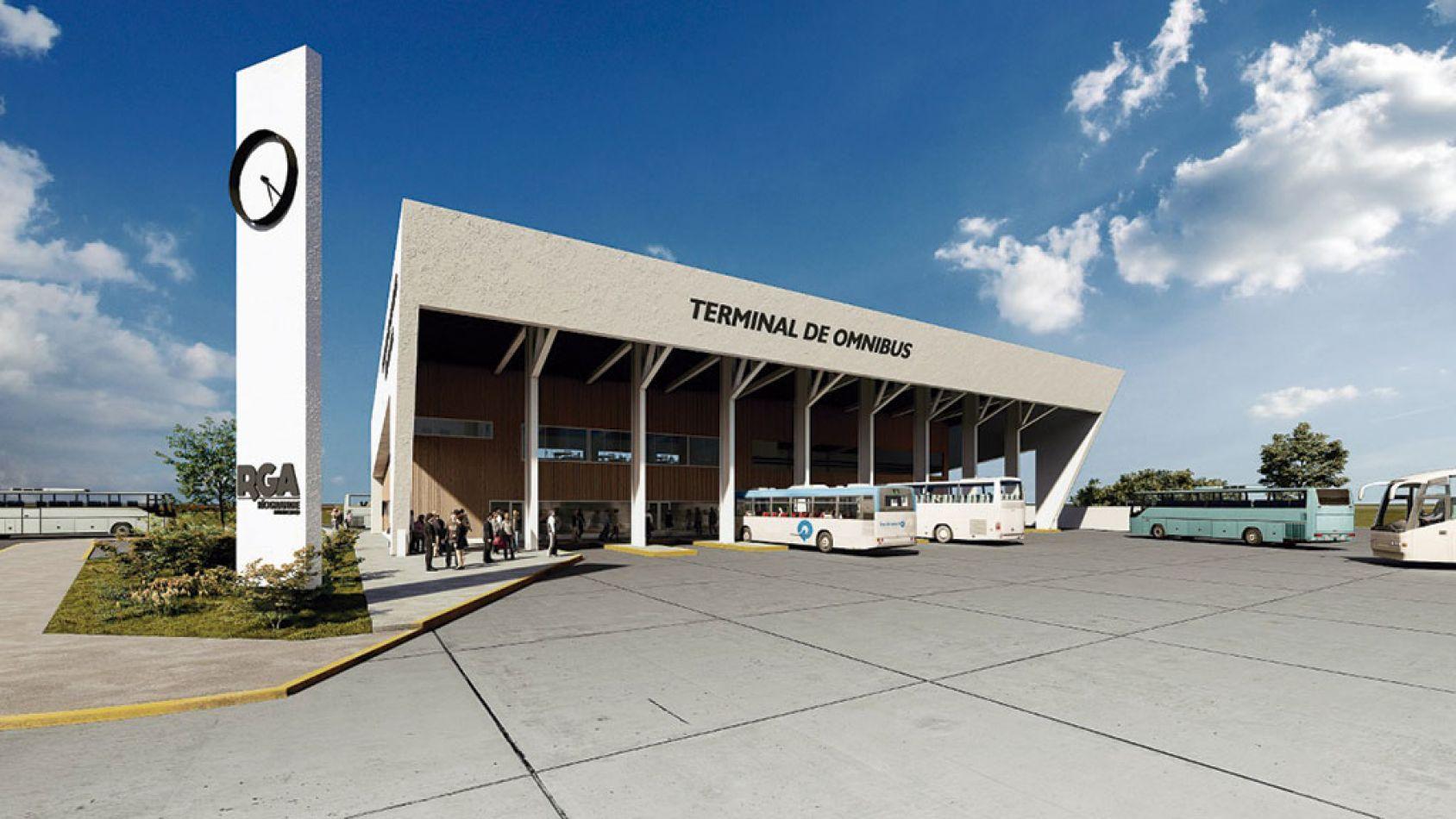 Nueva Terminal de Ómnibus en Río Granfe.