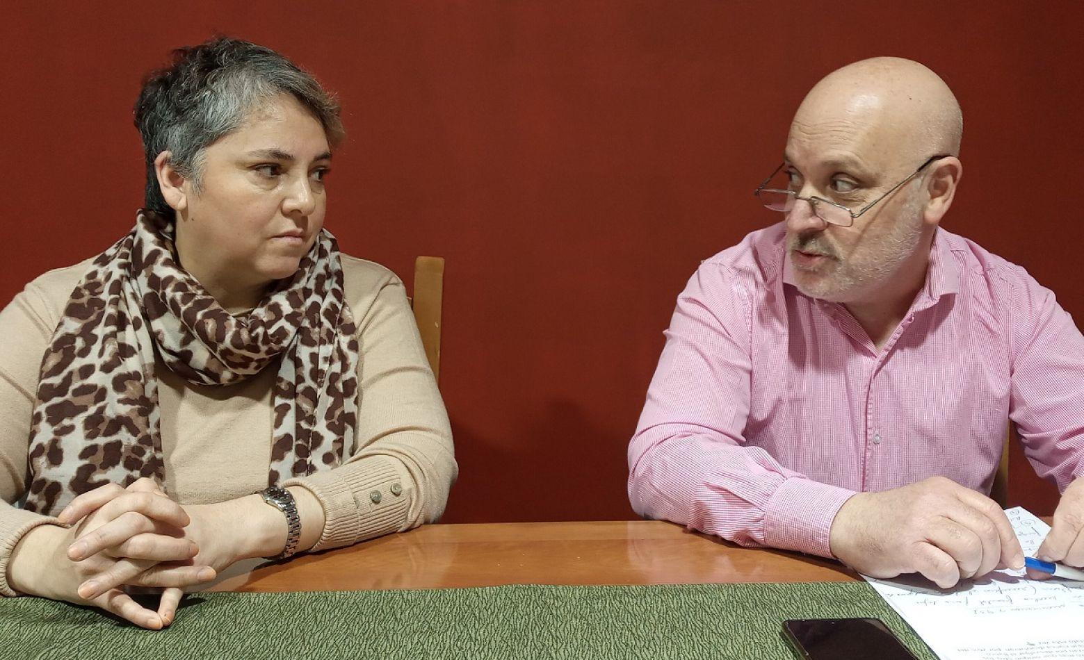 Paulina Zapata y Javier Da Fonseca, precandidatos de la UCR por el espacio República Urgente.