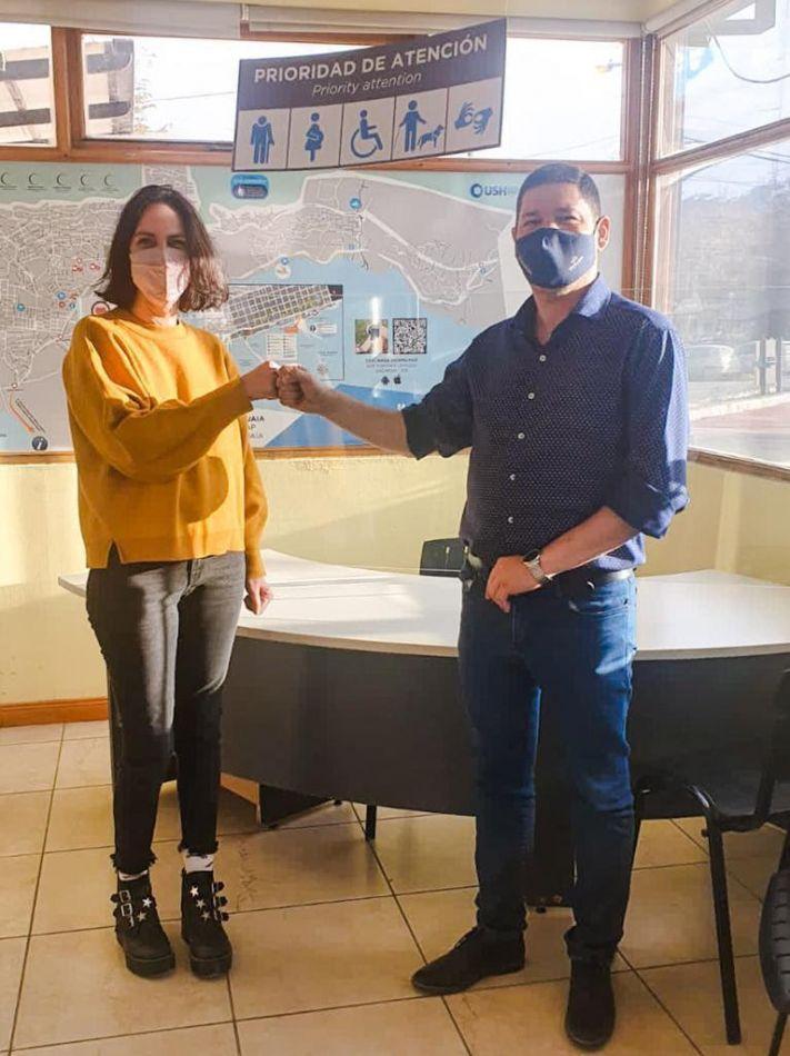 Secretaría de Turismo de Ushuaia y el INADI articulan acciones en conjunto