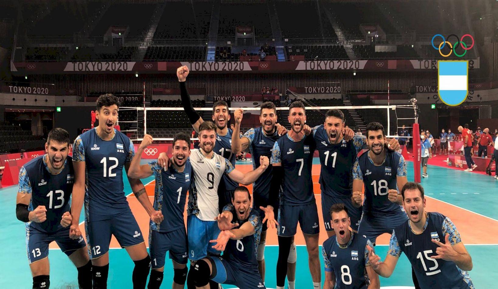 La Selección Argentina de vóley masculino consiguió un triunzó ante Estados Unidos por 3-0.