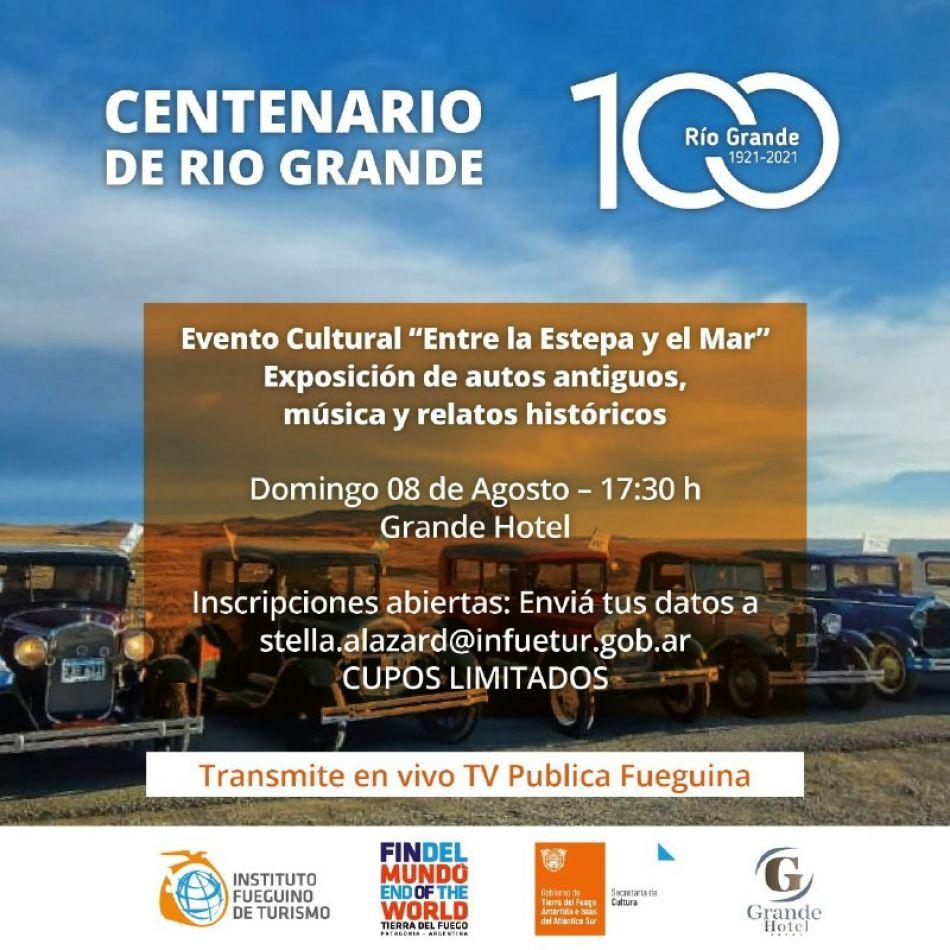 El evento se desarrollará el domingo 8 de agosto a partir de las 17:30 en el Grande Hotel.