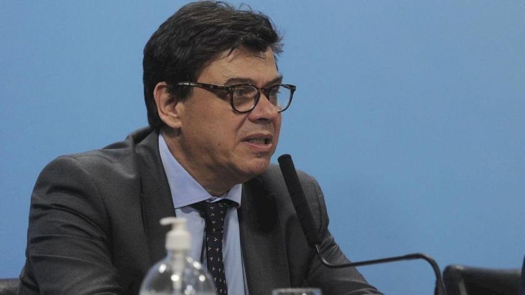 Ministro de Trabajo de la Nación Claudio Moroni.