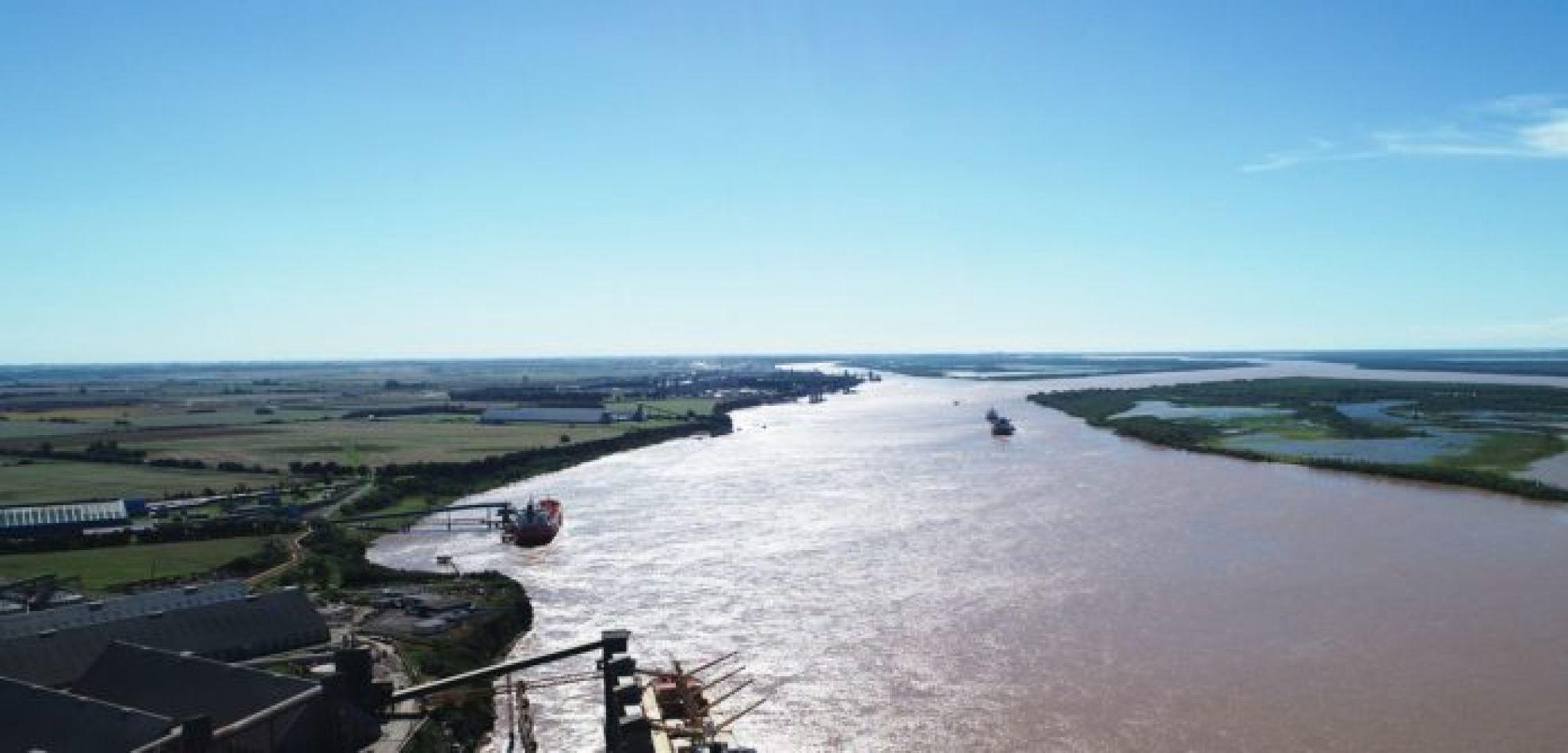 Empezó la nueva concesión de la Hidrovía por parte del Estado Nacional