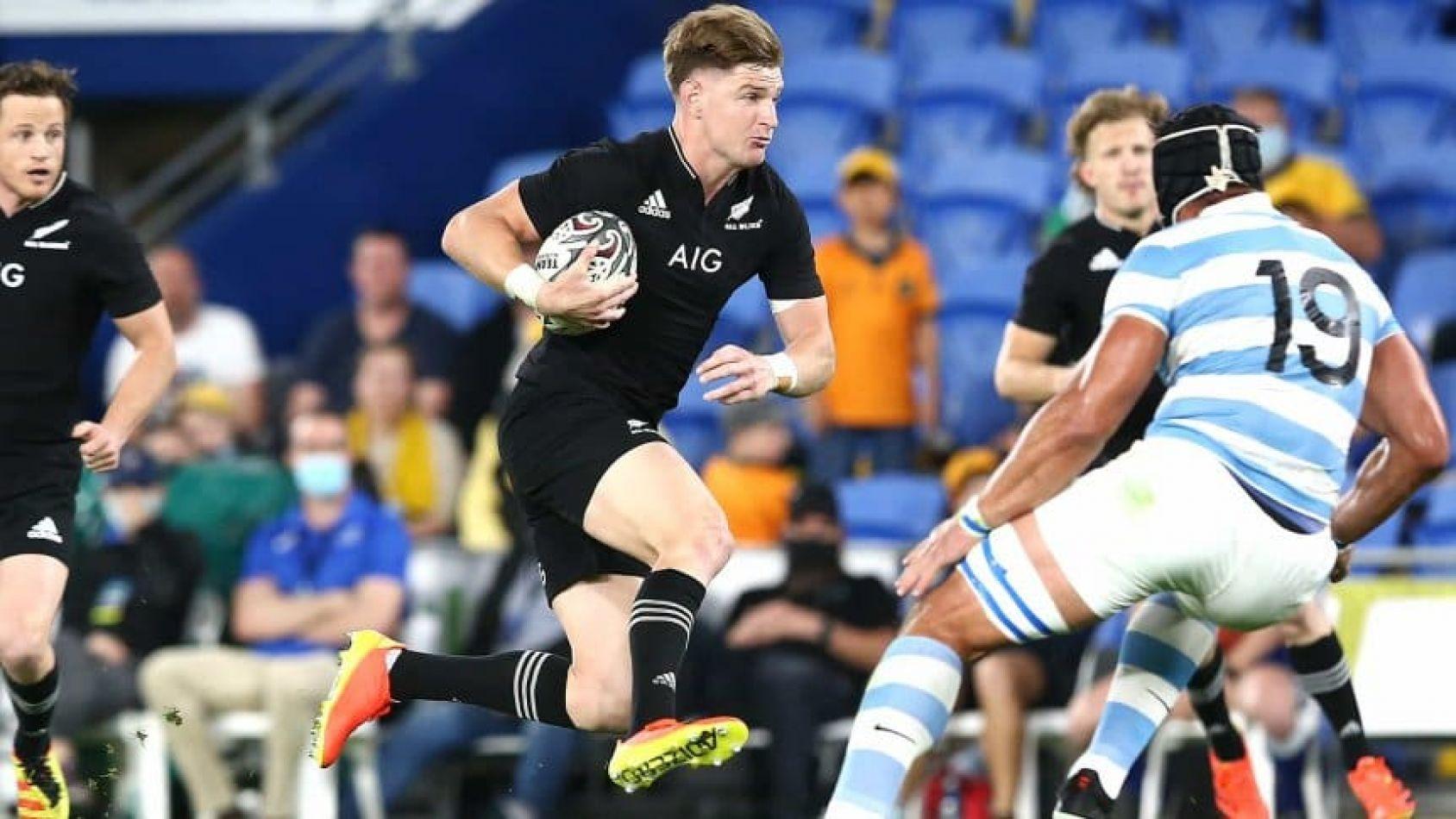 Paliza de los All Blacks a Los Pumas en el Rugby Championship