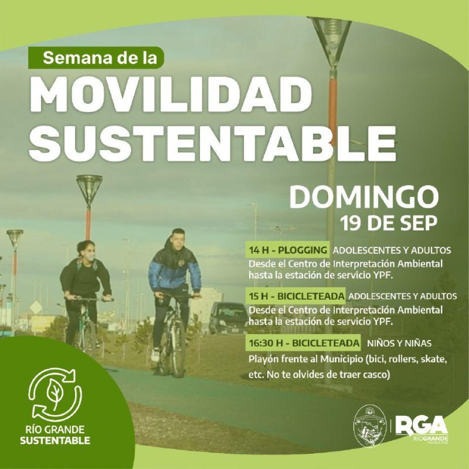 Se celebra la semana de la movilidad sustentable