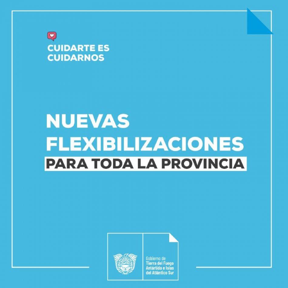 Nuevas flexibilizaciones en Tierra del Fuego