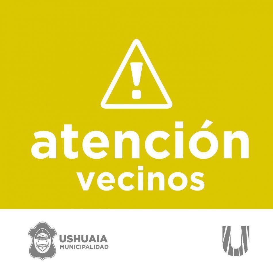 Quedará prohibido el estacionamiento total en calle Onas entre Gobernador Paz y Magallanes