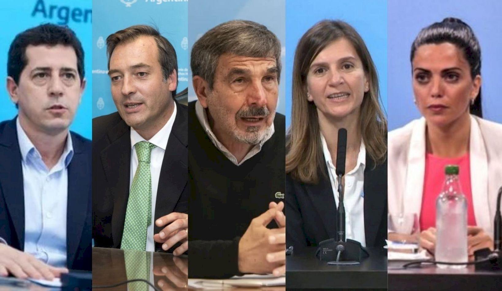 Wado De Pedro, Soria, Raverta, Salvarezza y Volnovich pusieron su renuncia a disposición