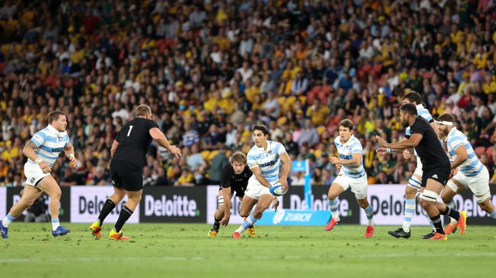 Rugby Championship: Los Pumas cayeron 36-13 con los All Blacks