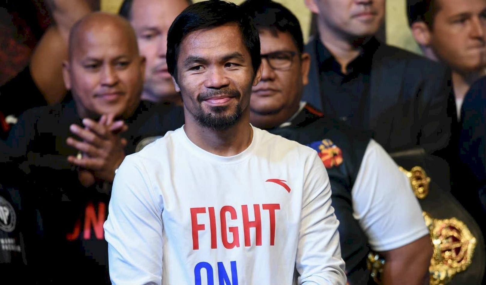 La leyenda del boxeo filipino Manny Pacquiao disputará la presidencia en 2022.