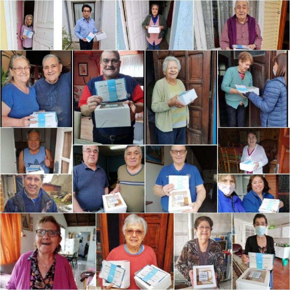 Jubilados de Río Grande fueron agasajados por el Municipio