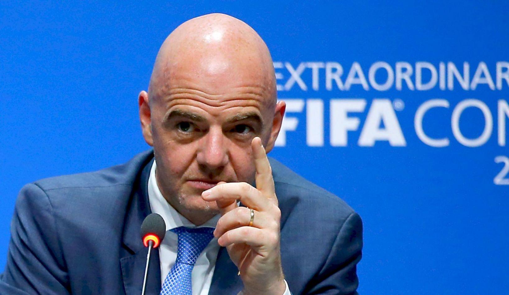 El presidente de la FIFA, el suizo Gianni Infantino.