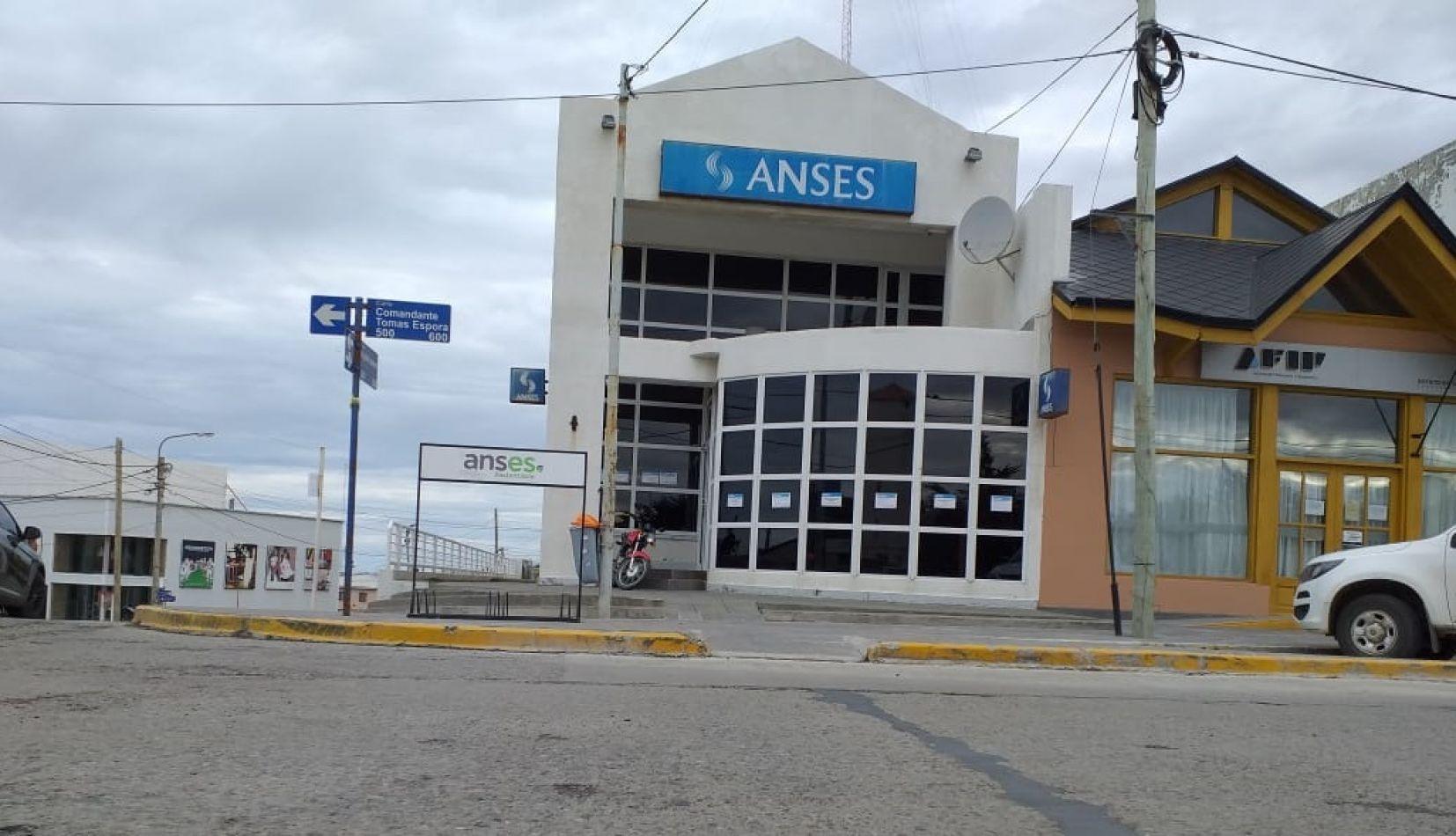 Sucursal de Anses de la ciudad de Río Grande Tierra del Fuego.