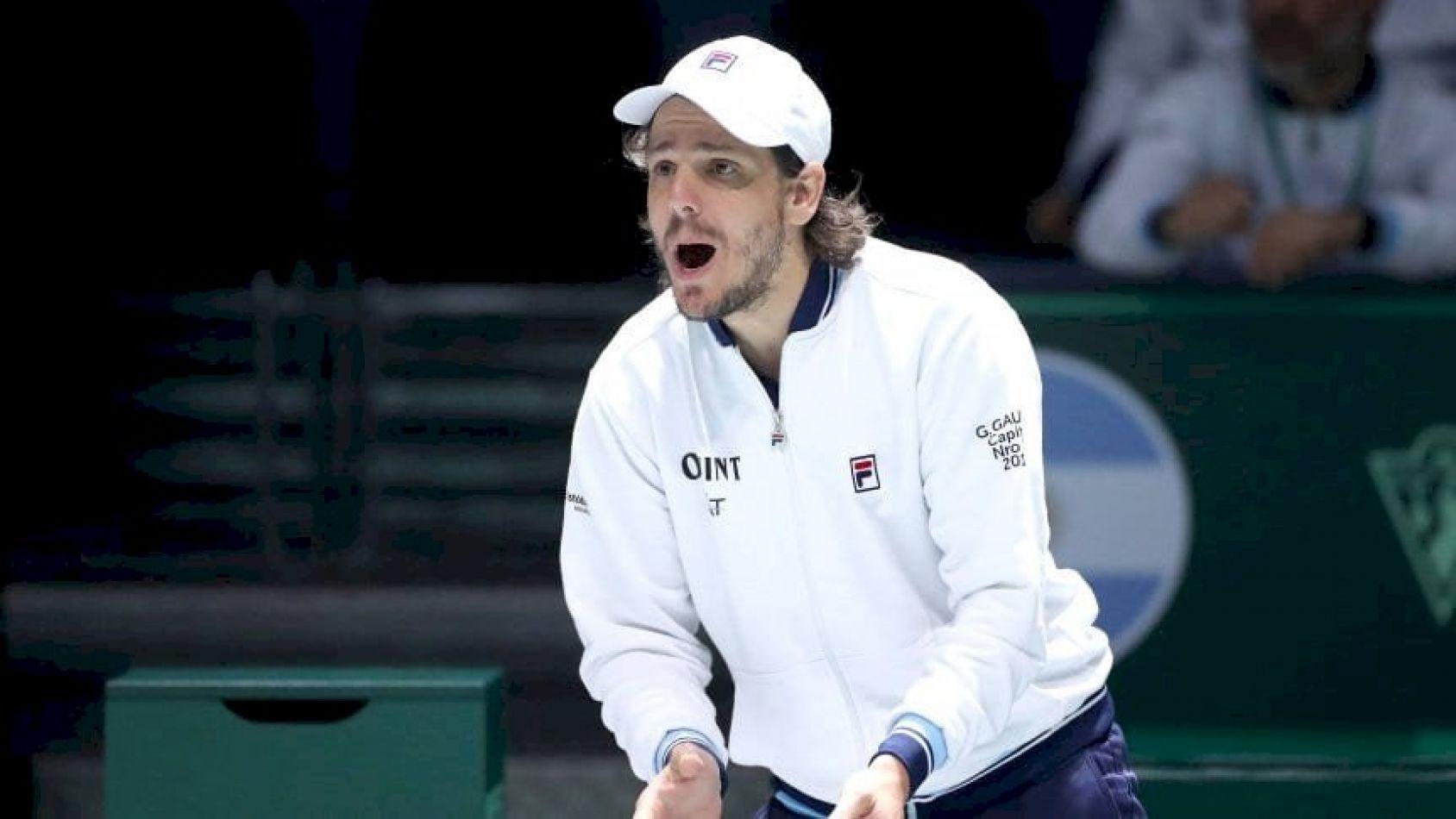 Guillermo Coria es el nuevo capitán argentino en la Copa Davis