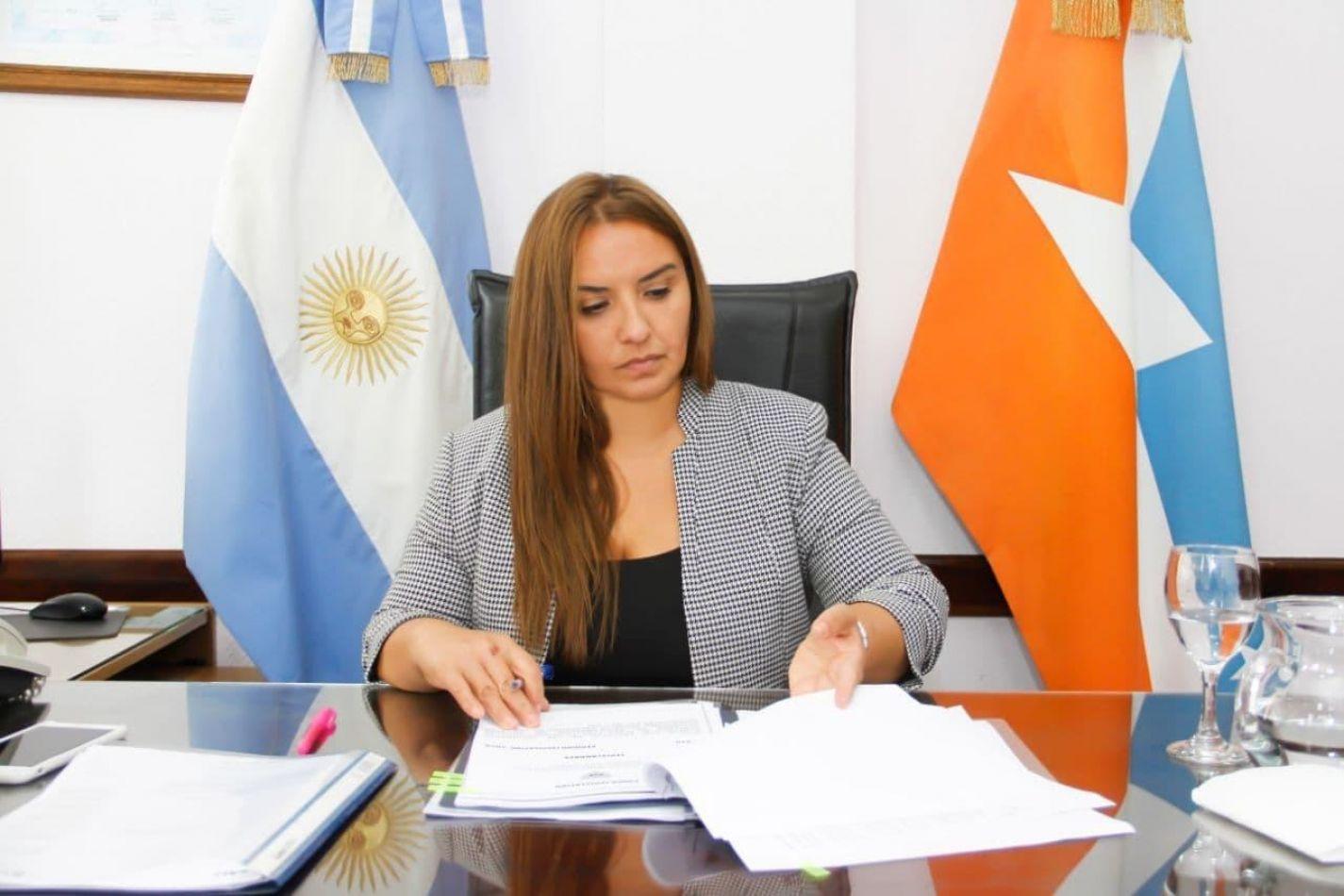 La legisladora Andrea Freites entendió que el presupuesto sufrirá cambios.