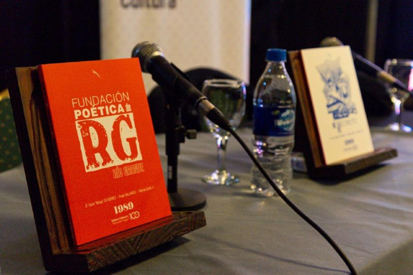 La Editoria Cultural Tierra del Fuego presentó la edición homenaje de la Fundación Poética de Río Grande